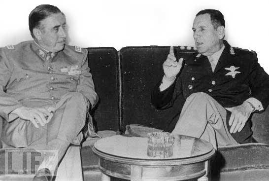 El Dia Que Se Juntaron Pinochet Y Peron