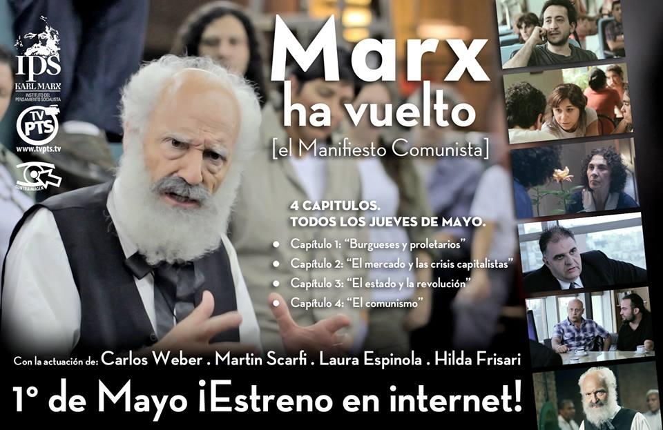 Marx ha vuelto, miniserie de ficción basada en el Manifiesto comunista